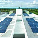 Primavera residences solar panel