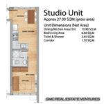 Primavera residences studio unit lay outl