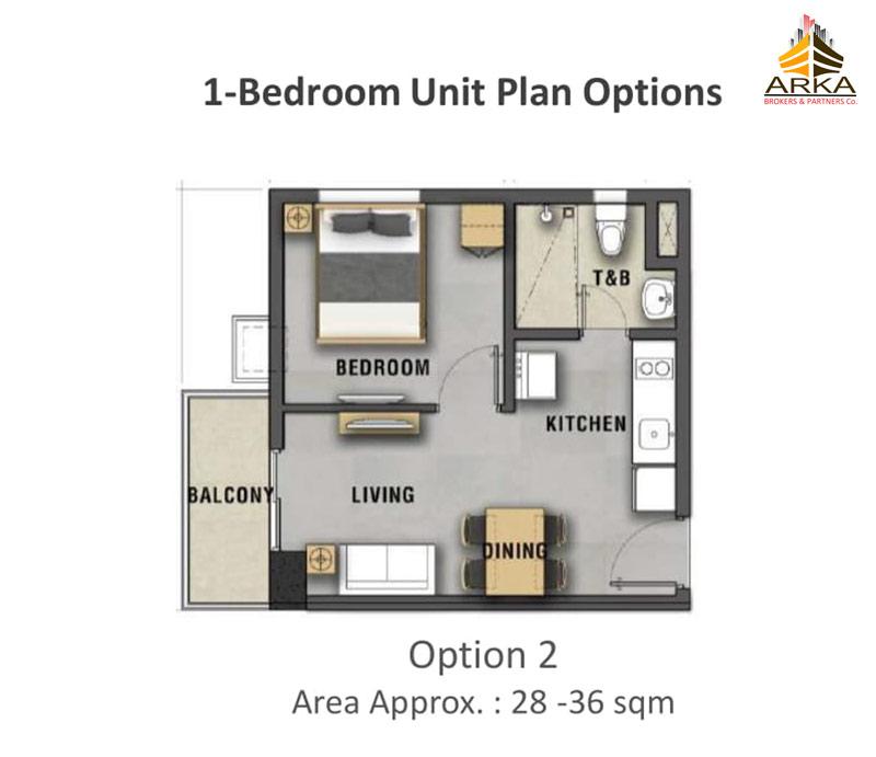 Casa mira tower cdo gmc 1 bedroom