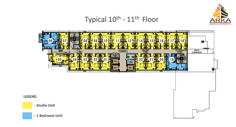Casa mira tower cdo gmc 10th 11th floor plan