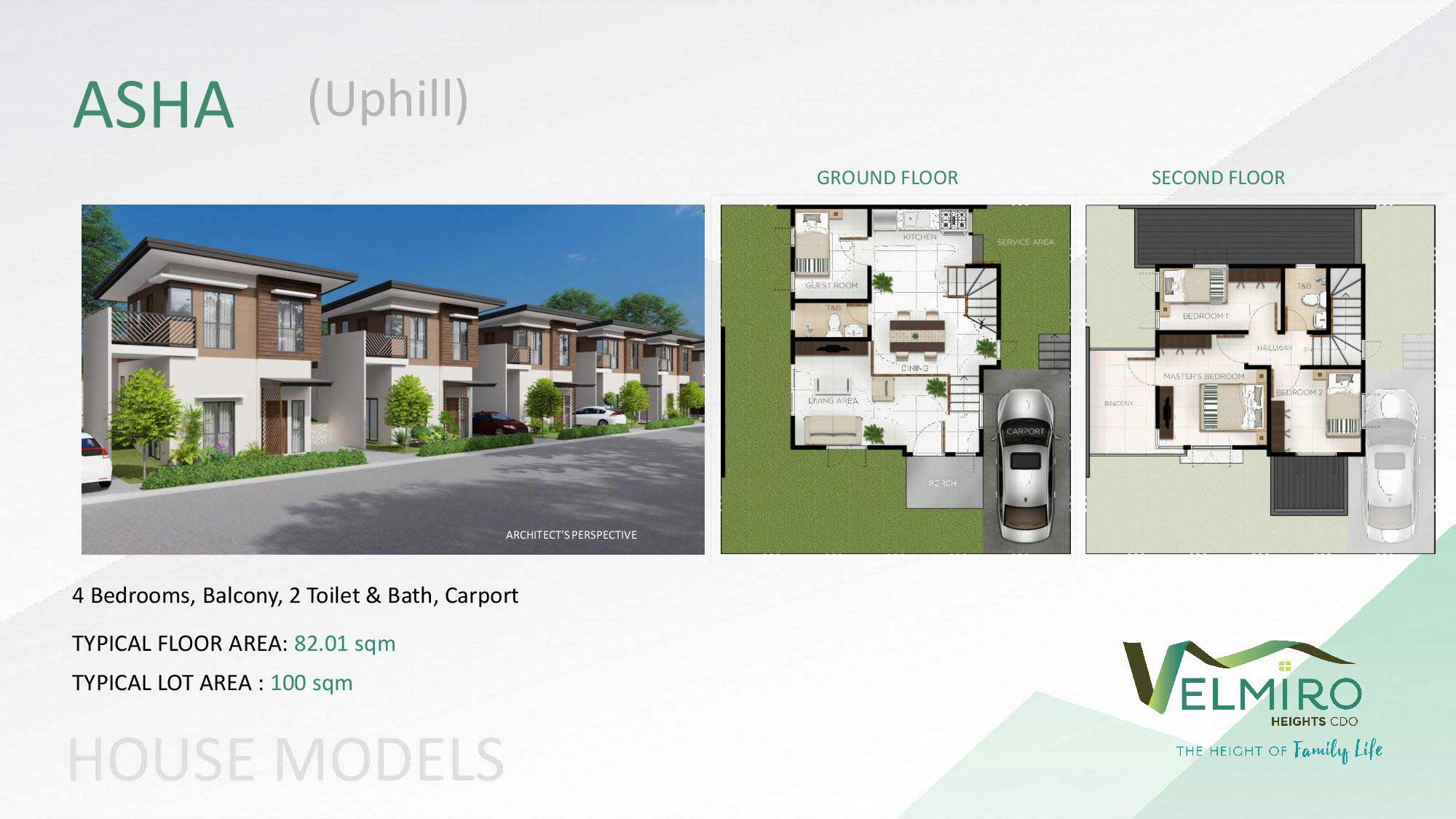 Velmiro heights agusan house model asha uphill web gmc