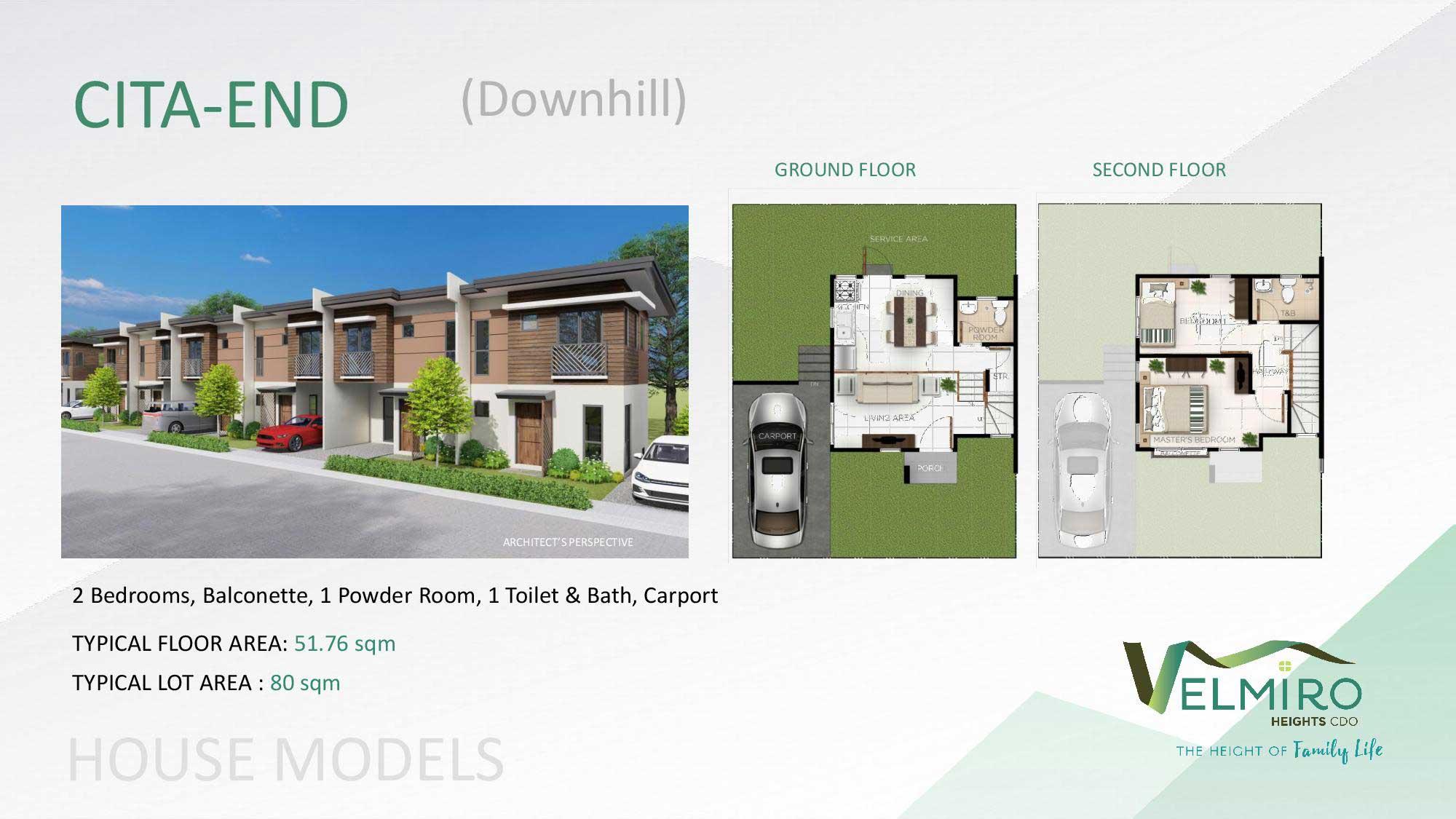 Velmiro heights agusan house model cita end downhill web gmc