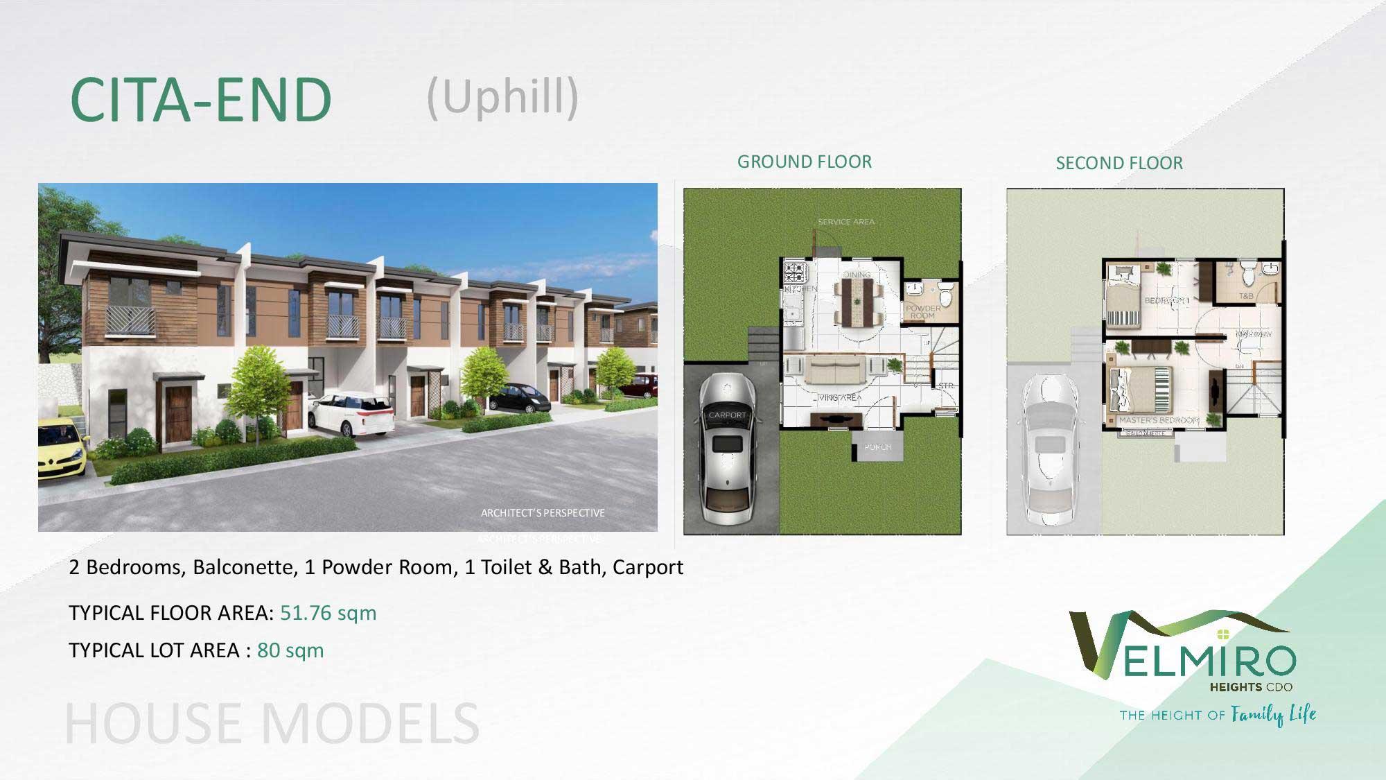 Velmiro heights agusan house model cita end uphill web gmc
