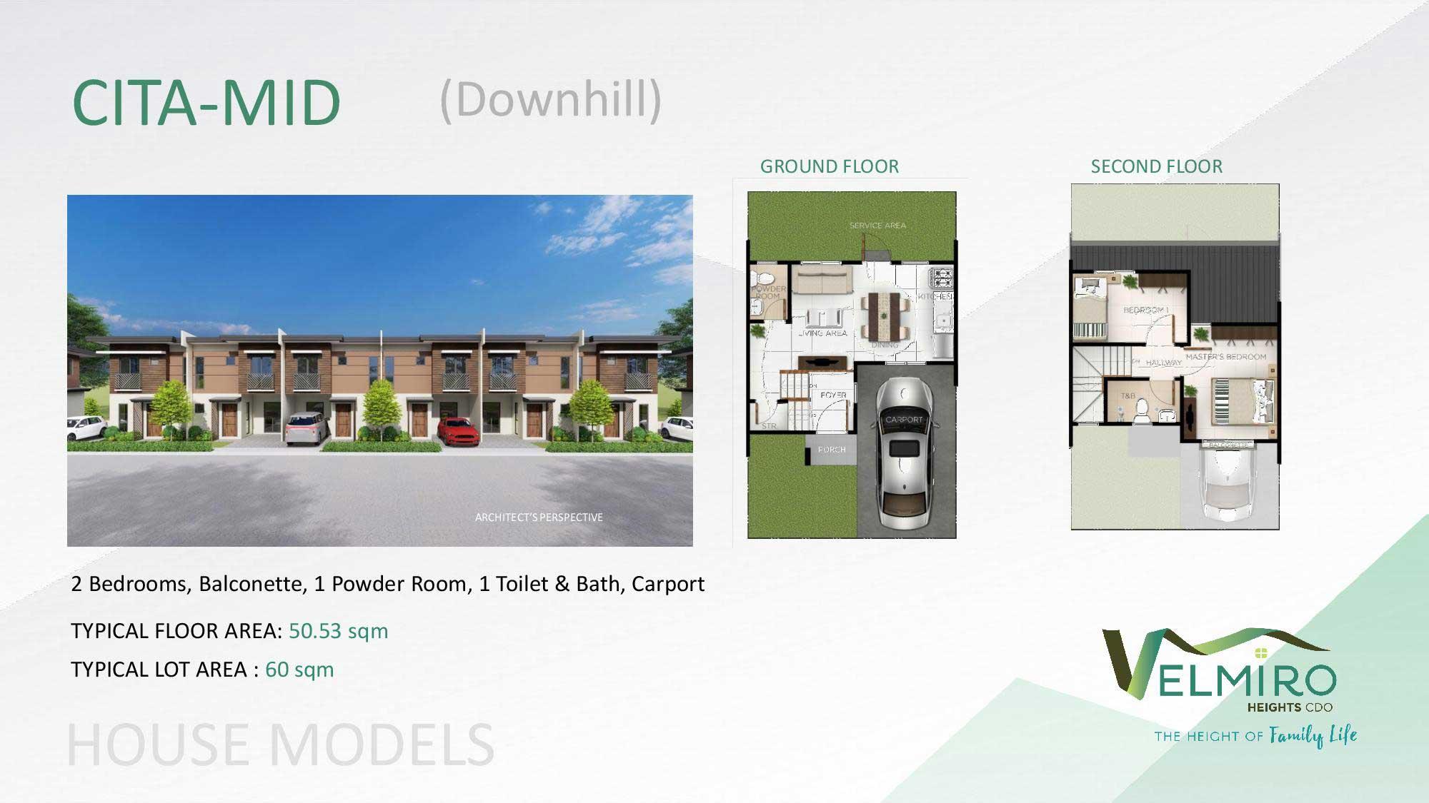 Velmiro heights agusan house model cita mid downhill web gmc