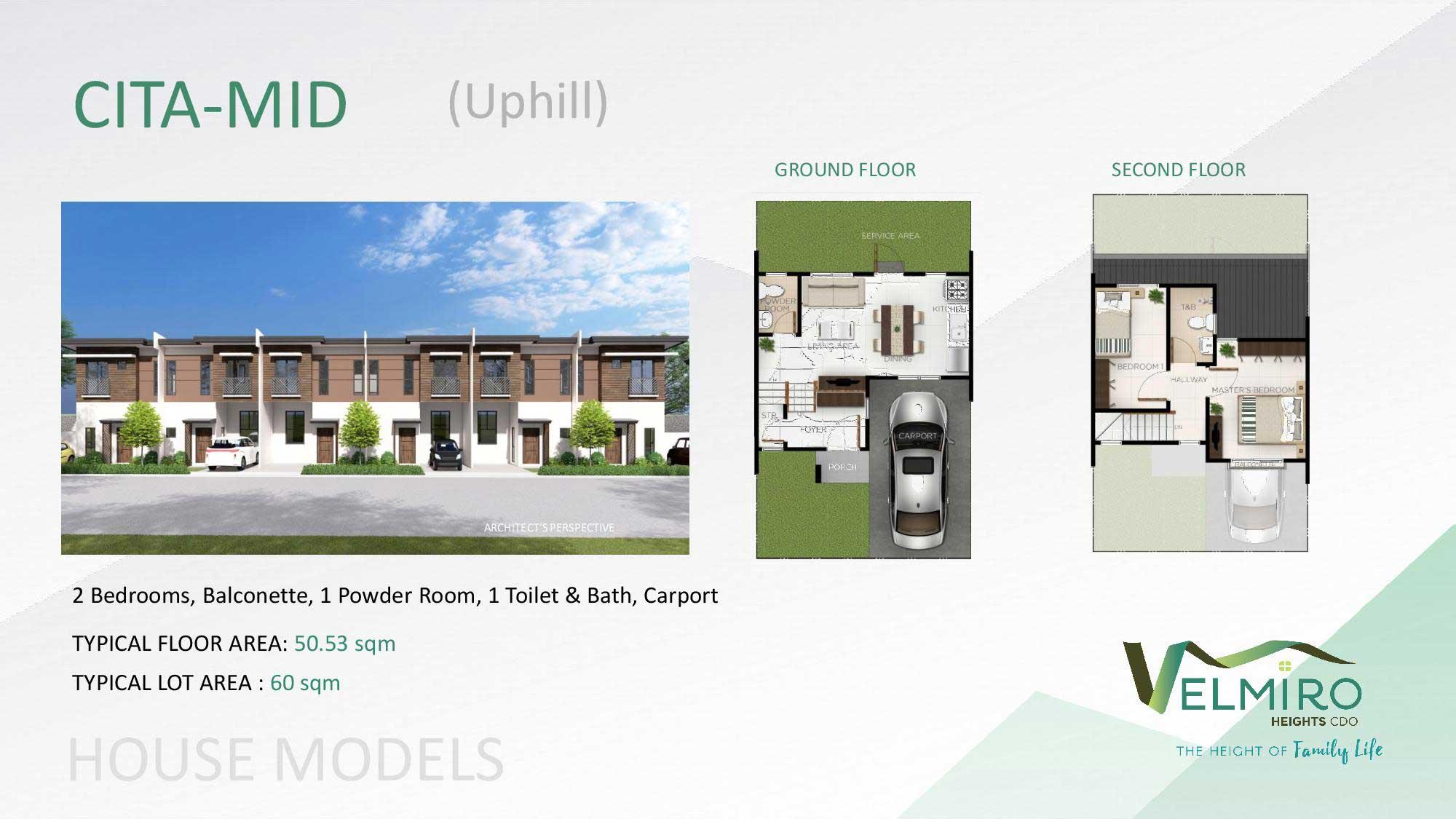 Velmiro heights agusan house model cita mid uphill web gmc