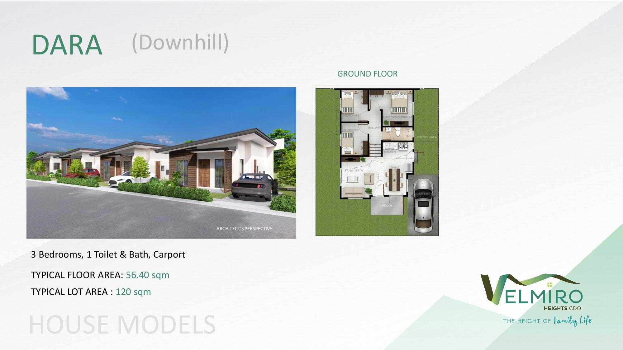 Velmiro heights agusan house model dara downhill web gmc