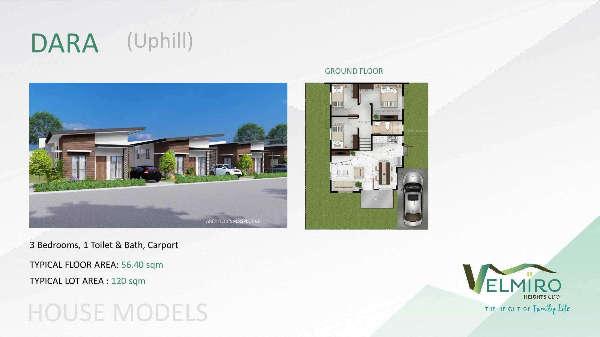 Velmiro heights agusan house model dara uphill web gmc