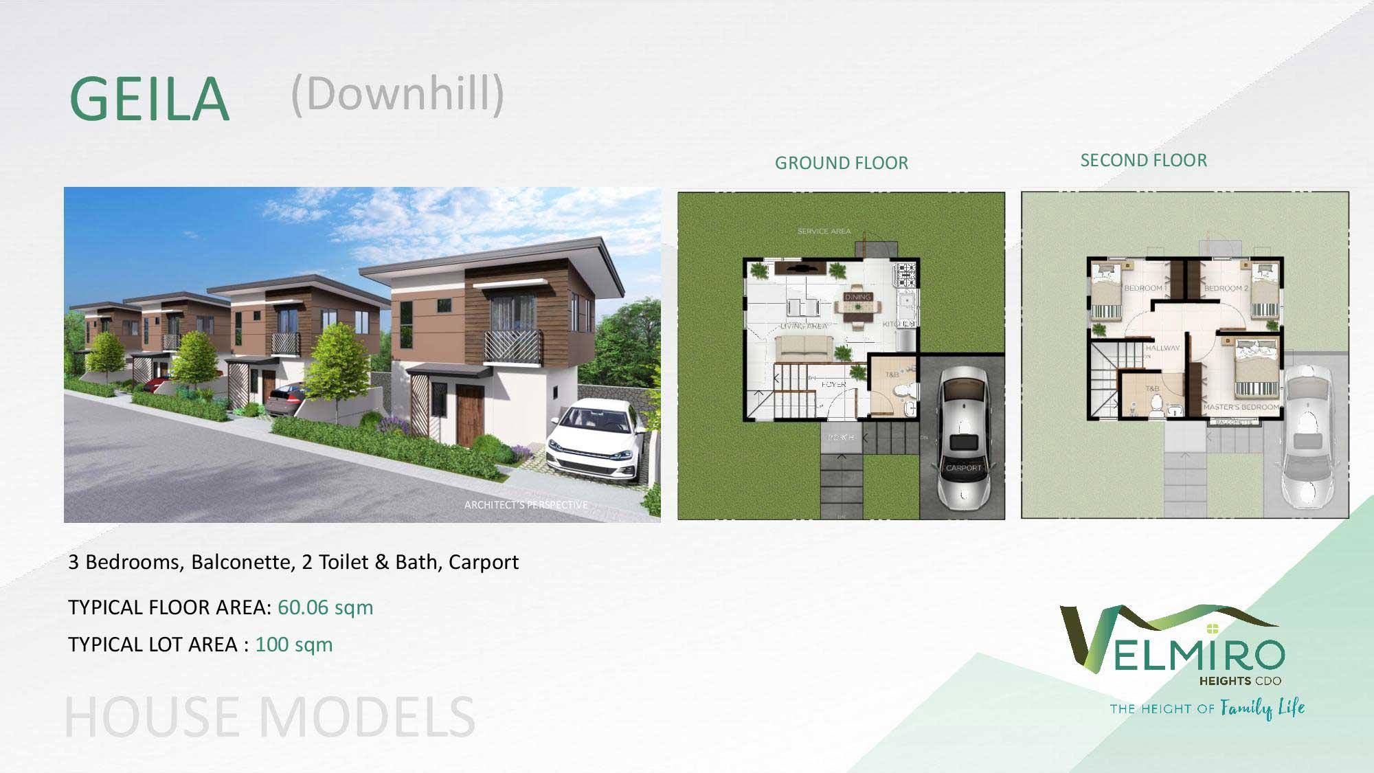 Velmiro heights agusan house model geila downhill web gmc