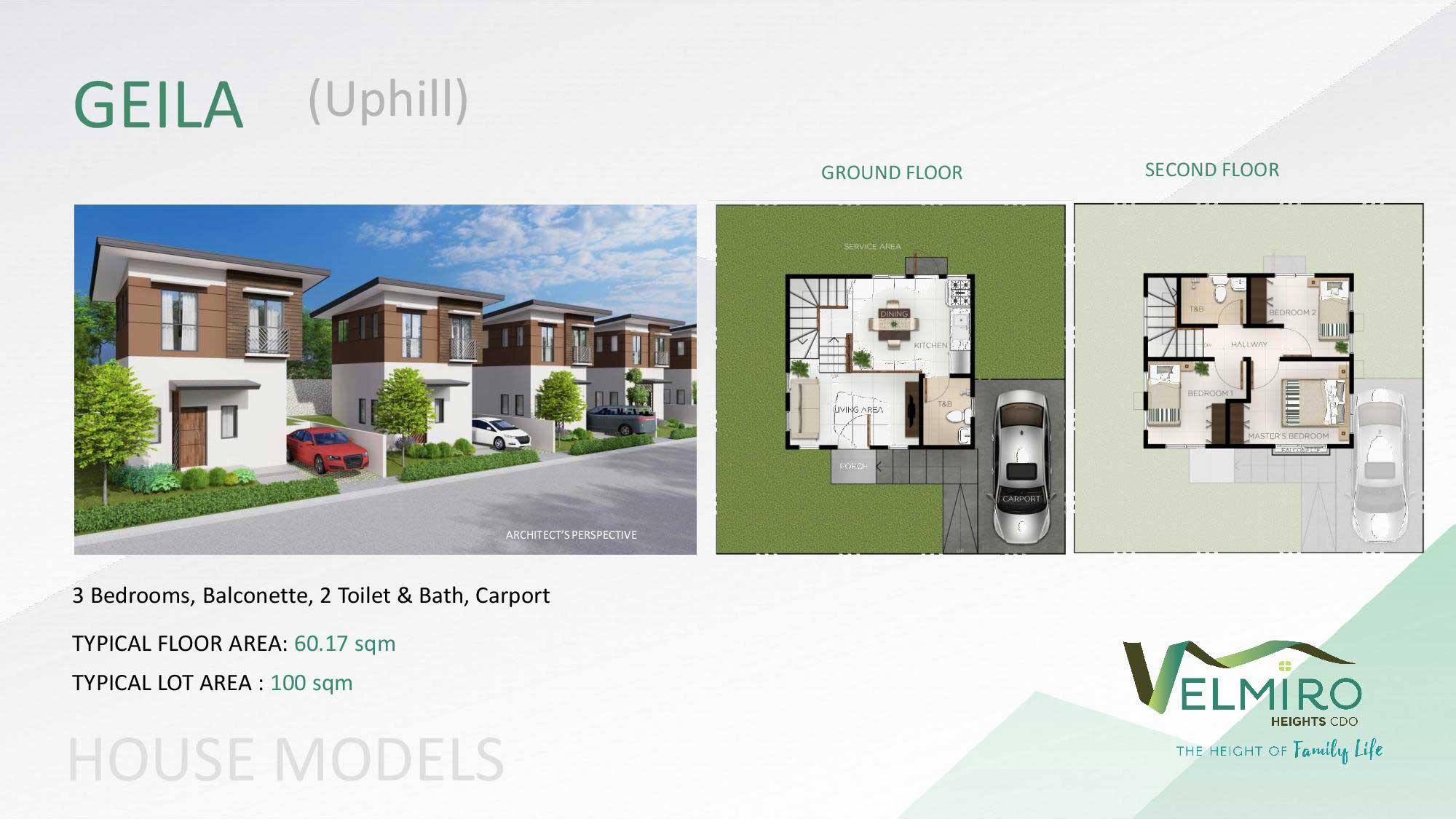 Velmiro heights agusan house model geila uphill web gmc