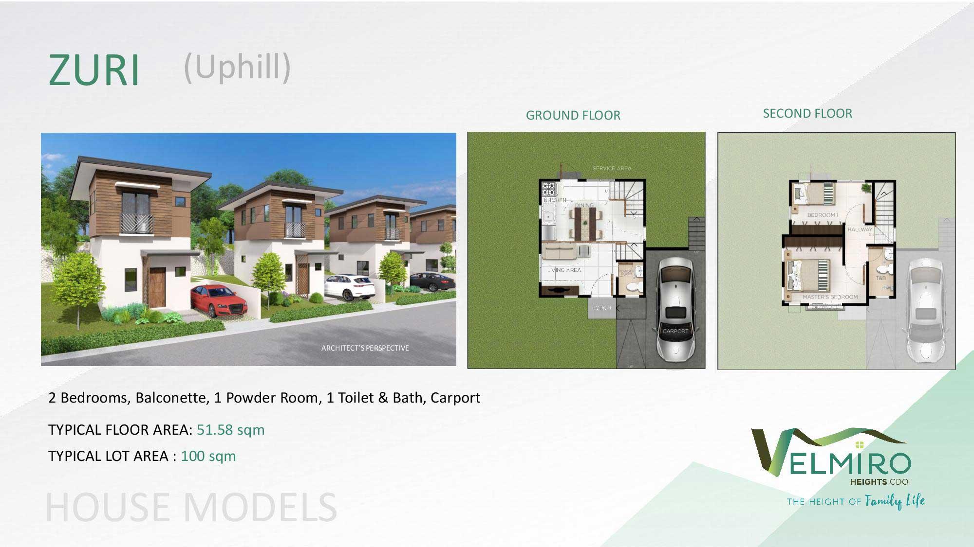 Velmiro heights agusan house model zuri uphill web gmc
