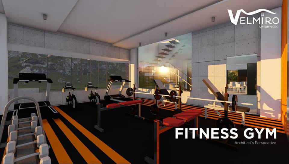 Velmiro uptown cdo fitness gym gmc
