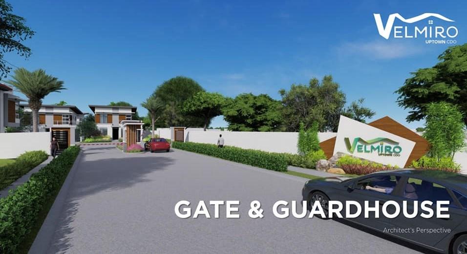 Velmiro uptown cdo gate & guardhouse gmc